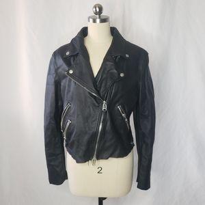 MACKAGE Moto Biker Lamb leather jacket M
